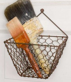 In Love With These Elegantly Sized Farm House Inspired Wall Baskets Perfect For Storing Crafts Office Su Baskets On Wall Wire Wall Basket Hanging Wire Basket