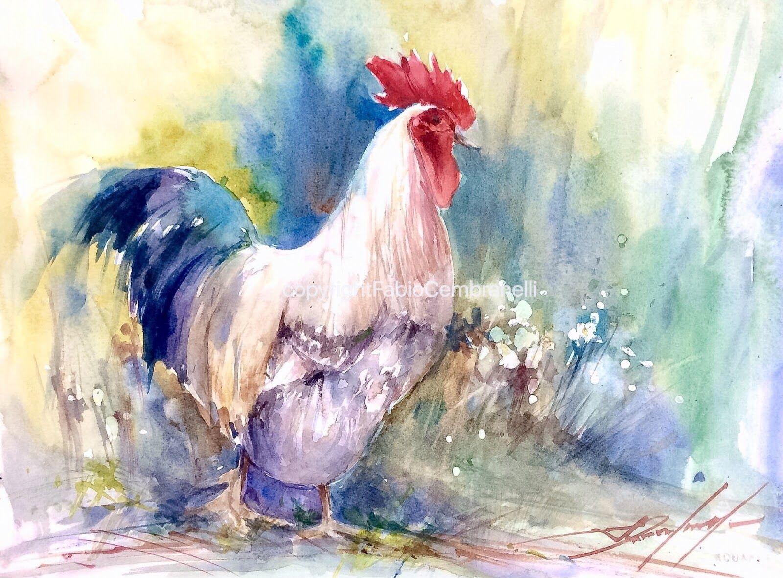 Watercolors Oils And Acrylics By Brazilian Artist Fabio
