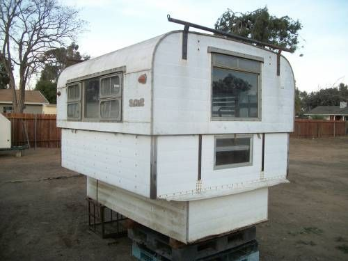 Alaskan camper 8 foot non cabover All original $950 | TCT