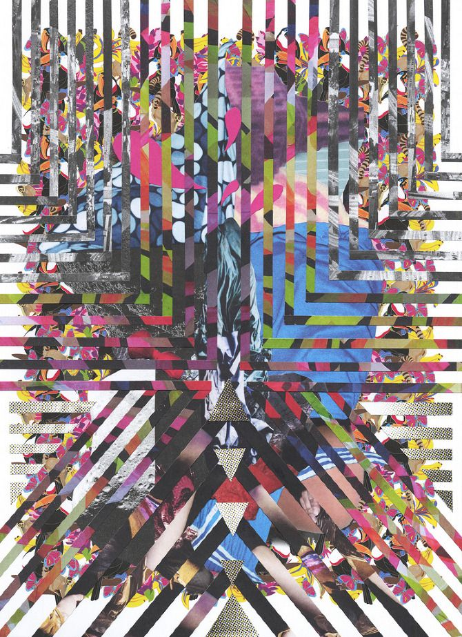 Collage Art Chaos - Marco Migani | Collage art, Collage and Inspiration