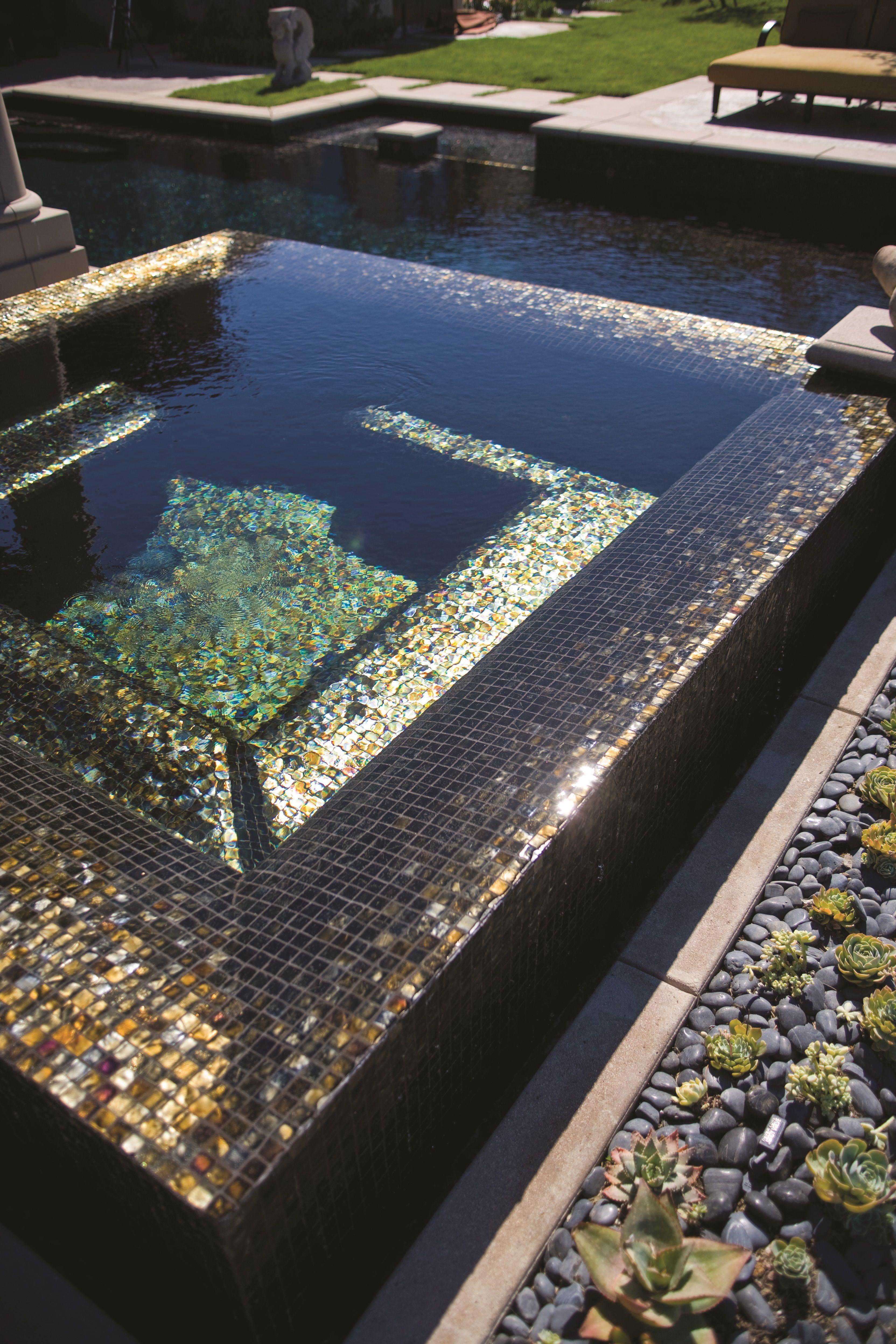 Oceanside Glasstile Glass Mosaic Tile Installation By