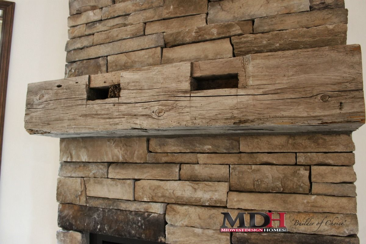 Pin By Midwest Design Homes On Mdh Fireplaces House Design Custom Home Designs Fireplace Design