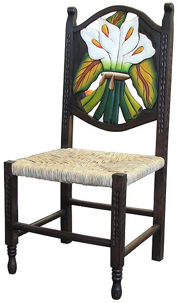 Mexican Carved Chairs Rustic Furniture