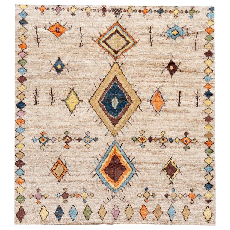 21st Century Modern Moroccan Style Rug In 2020 With Images Moroccan Style Rug Rugs On Carpet African Rugs