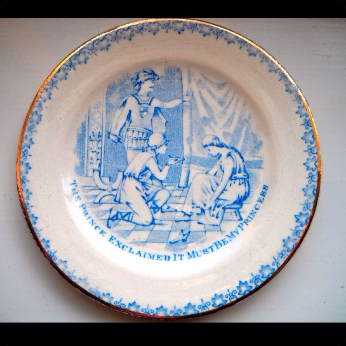 Cinderella Plate from TG Green. | T.G Green / Cornishware | Pinterest