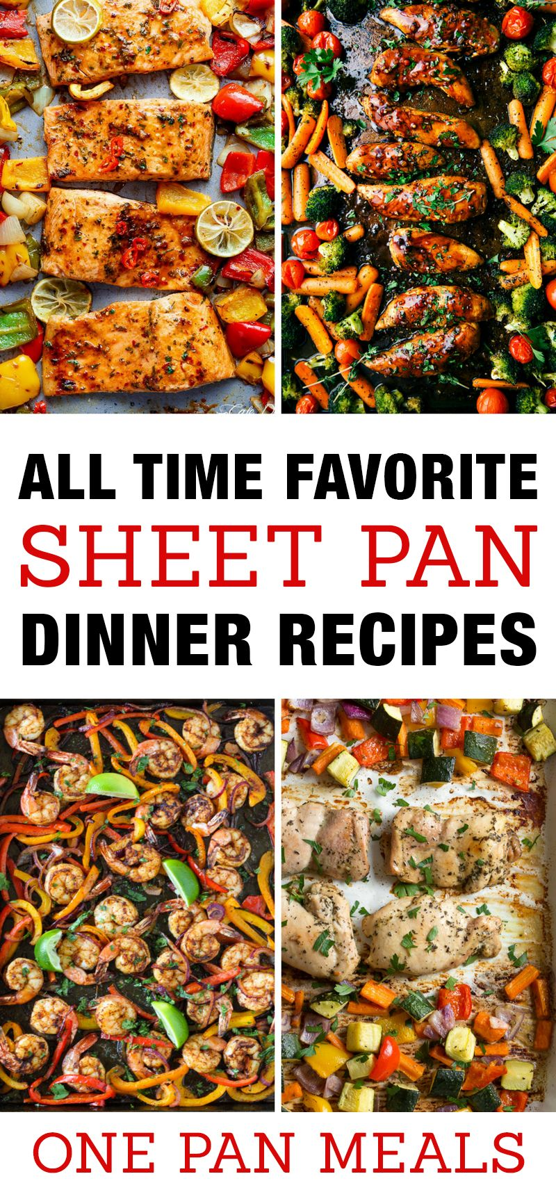 Best Sheet Pan Dinner Recipes For Quick Family Meals One Chicken Seafood