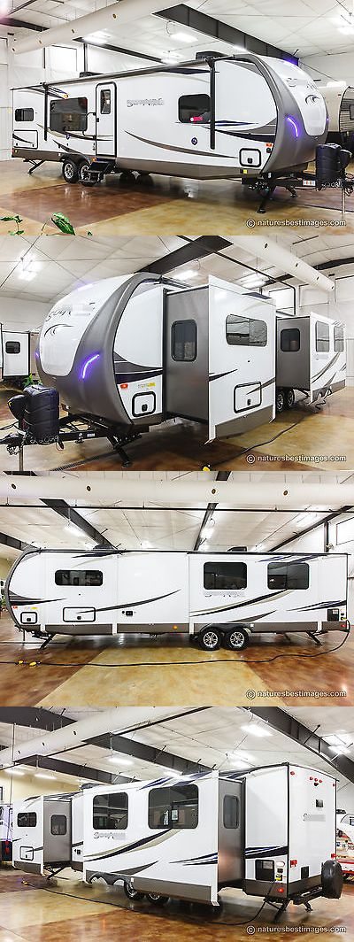 rvs: New 2018 304Rkds Rear Kitchen Bedroom Slide Out Travel Trailer ...