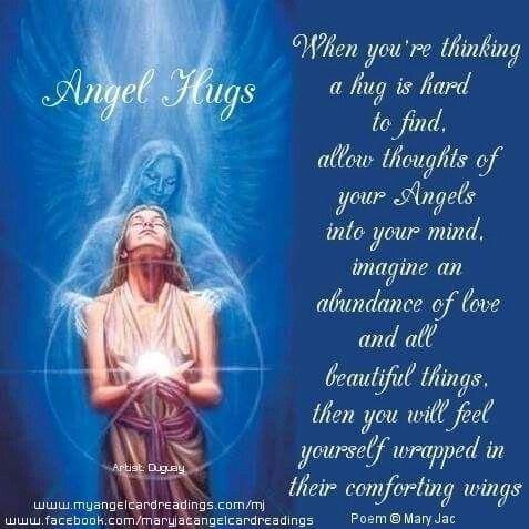 Angel Hugs Quotes Pinterest Hug