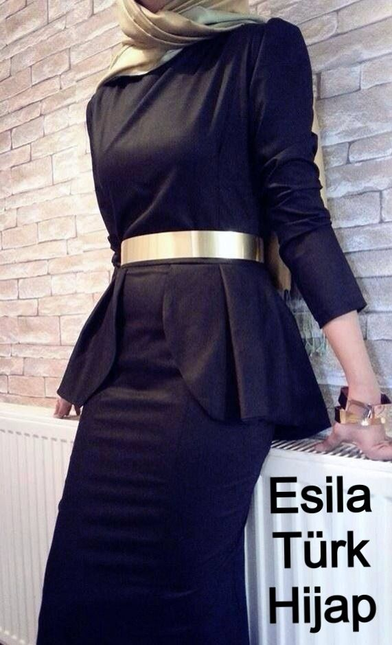 Esila hijab - totally go to work in this! | Hijab | Pinterest ...