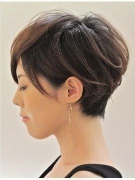Coupe courte pour femme Short hairstyle for girls with
