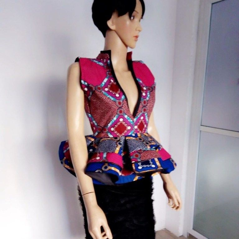 Statement Ankara Peplum Top Designs Perfect For Fashionistas - Wedding Digest Naija #kitengedesigns