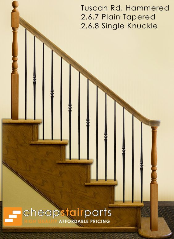 Best This Staircase Pattern Features Balusters From The Tuscan 400 x 300