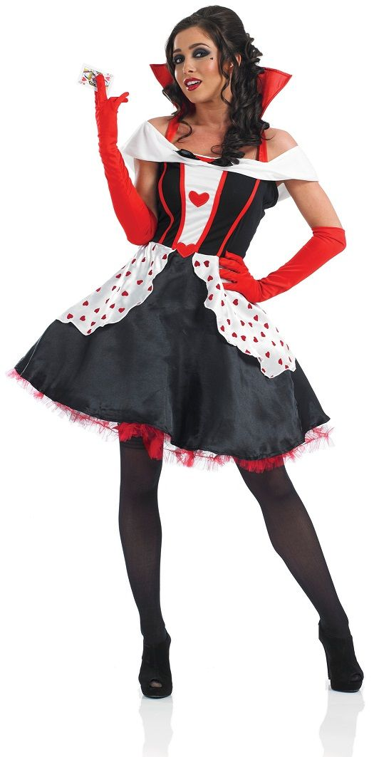 Queen Of Hearts Costume 3100 Lets Play Dress Up Pinterest