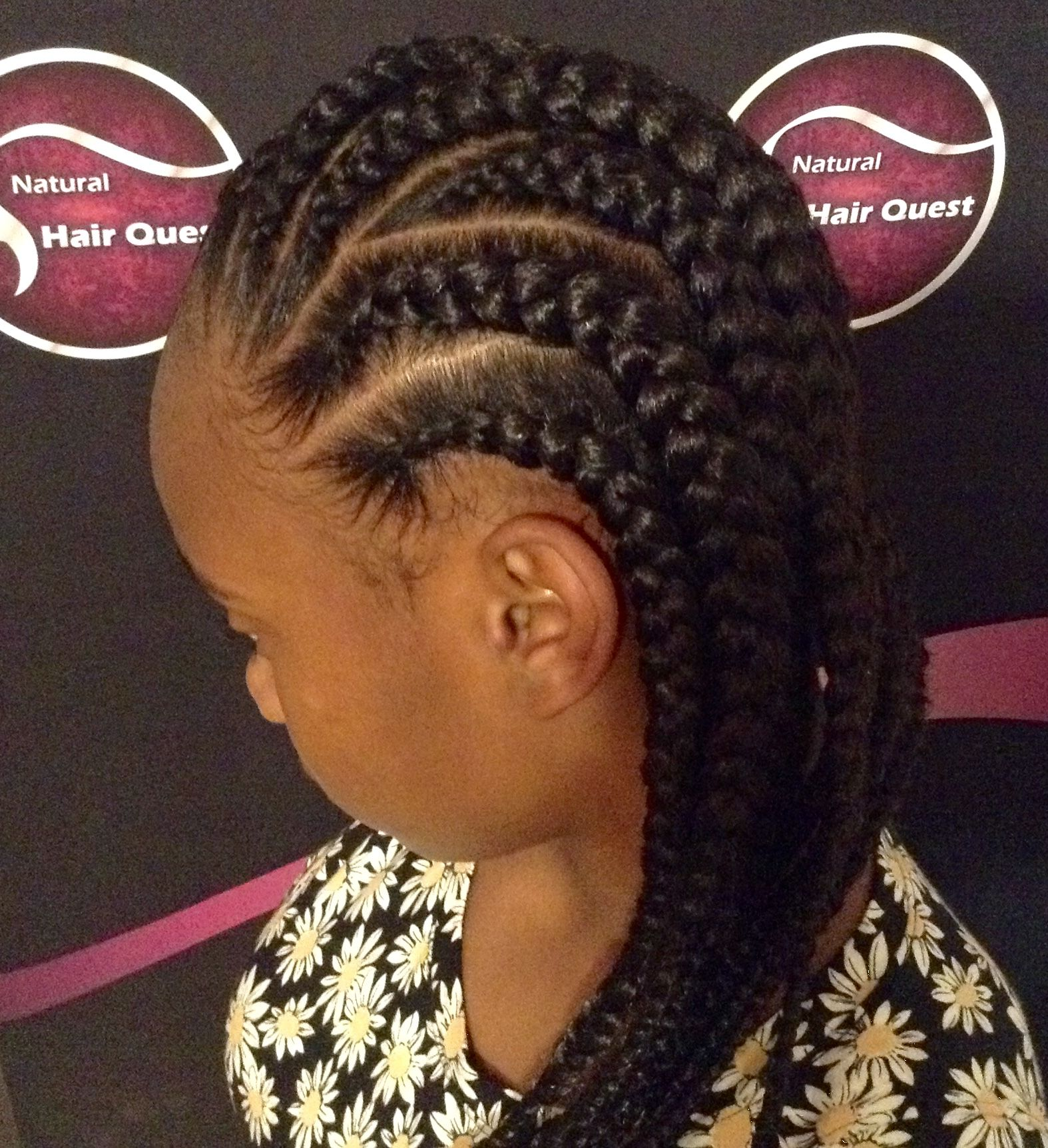 large cornrows style | braiding styles in 2019 | big cornrow