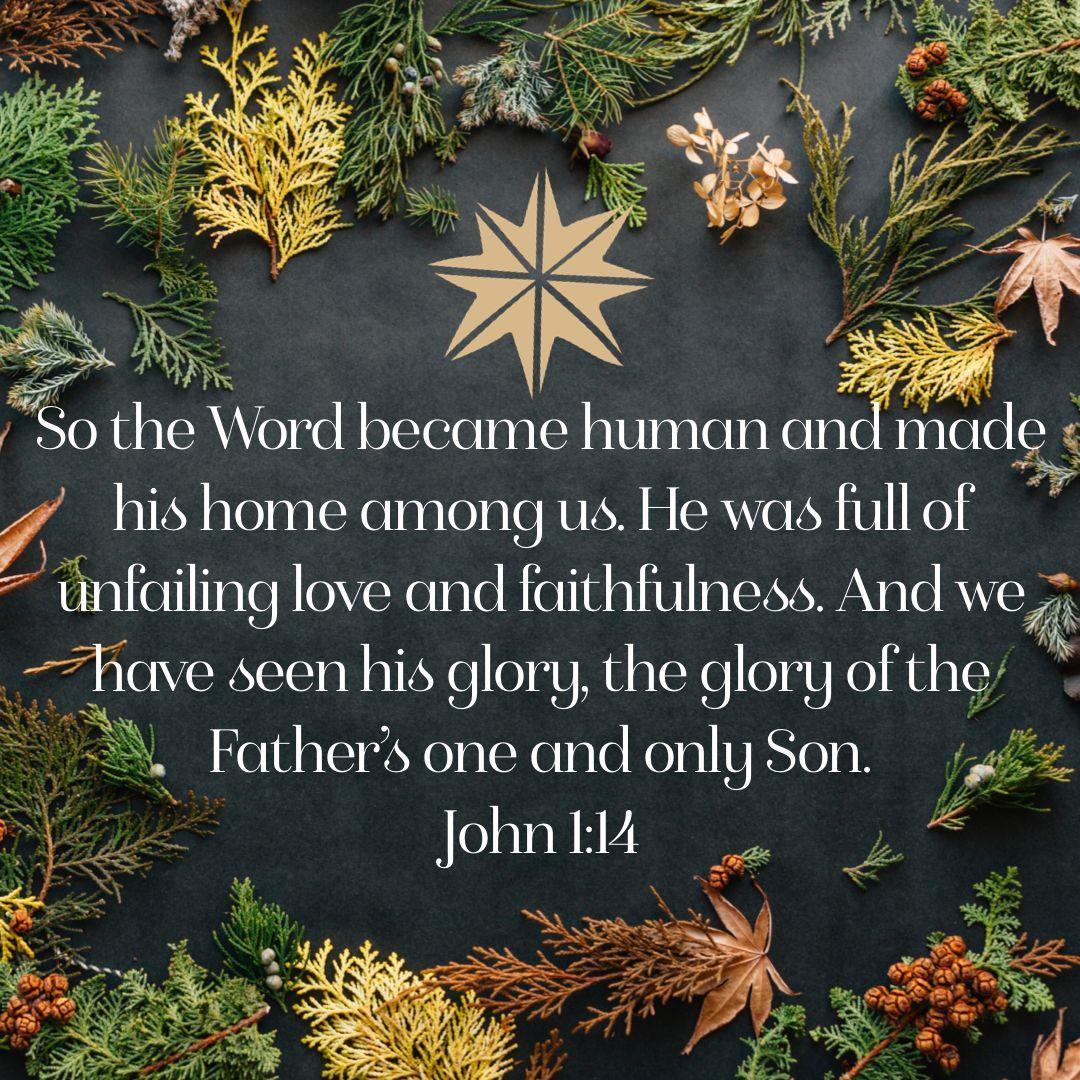 John 1:14 · Bible ScripturesBible QuotesChristmas ...