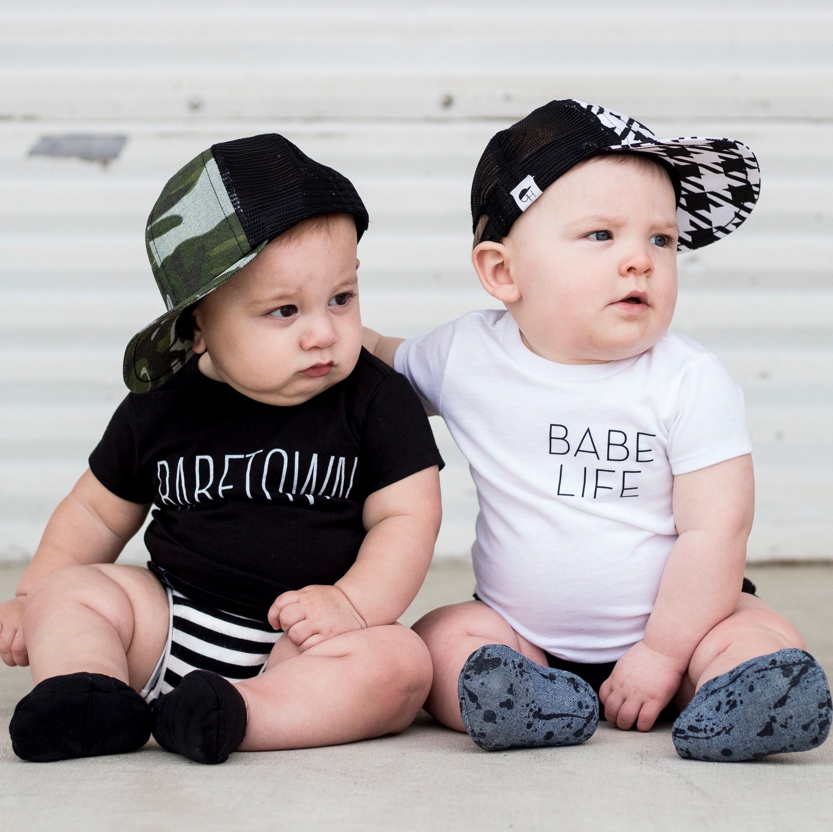 2517497e0 Cool baby style! Toddler Trucker hats @george_hats | T r u c k e r H ...