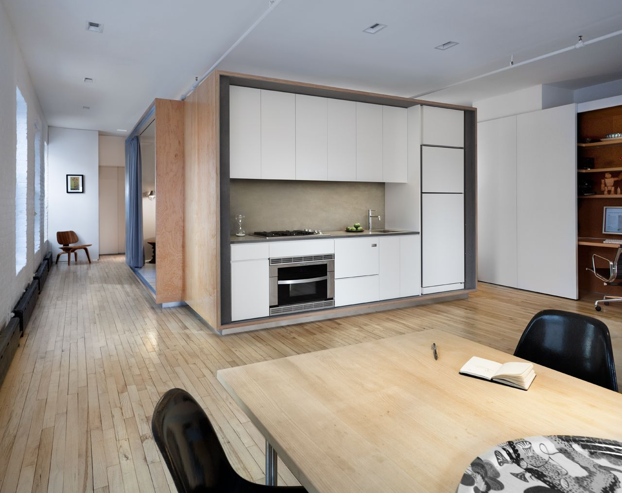 Loft Has Clever Privacy Ideas For Small Spaces Apartment