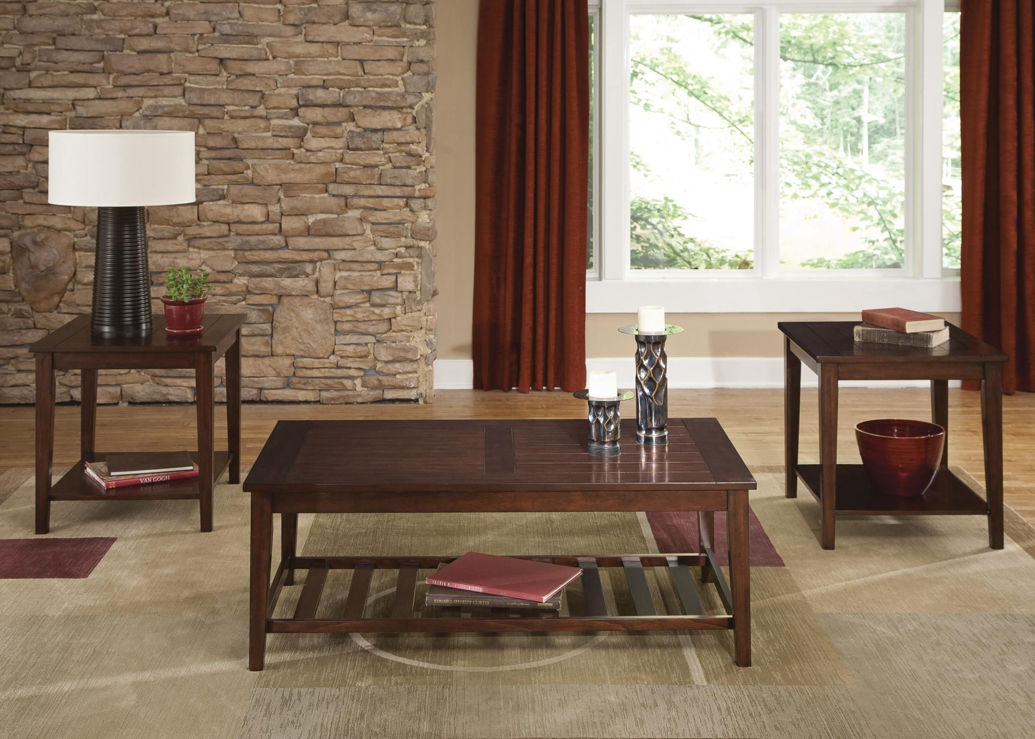 missoula 3piece occasional table setliberty furniture