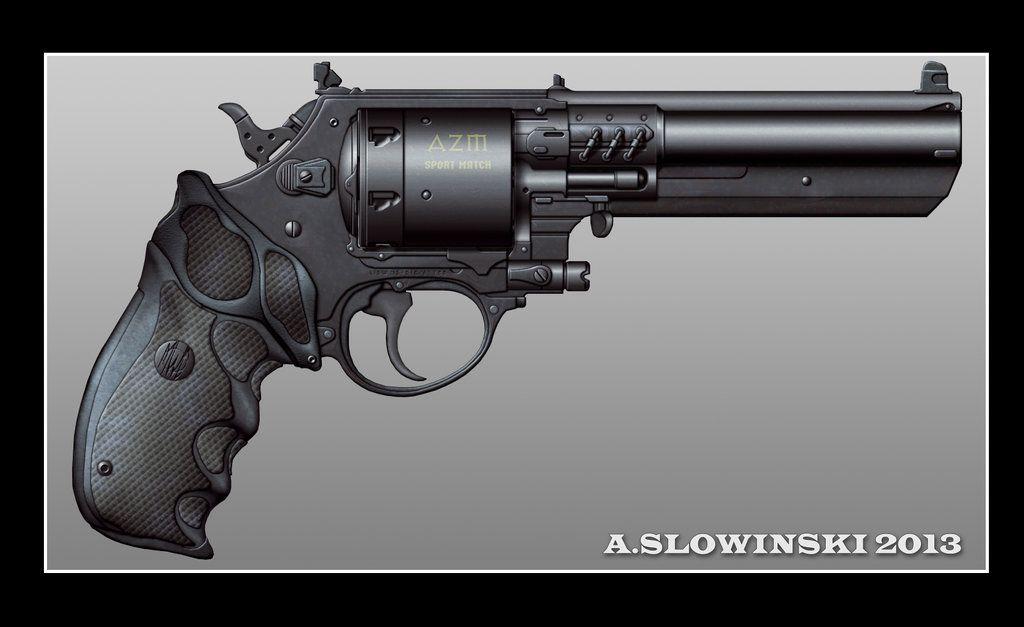 AZM Sport Match Revolver by BlackDonner.deviantart.com on ...