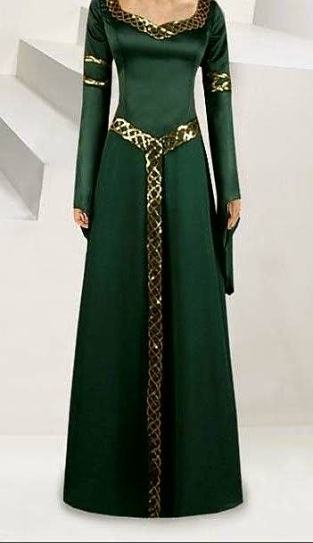 Jade Beauty Gothic Renaissance Adult Costume Standard