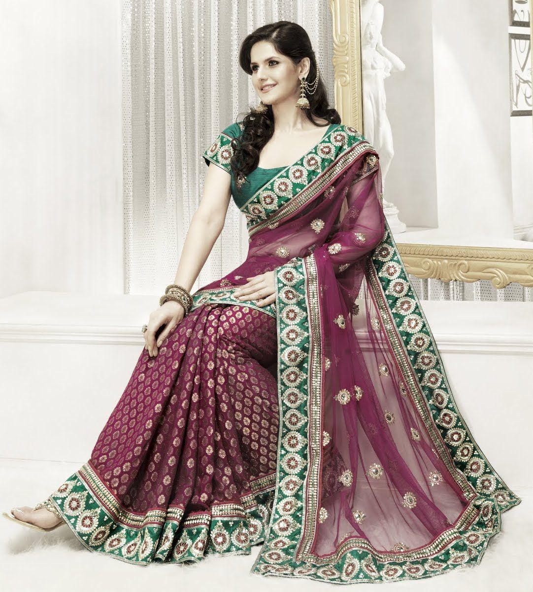 pink designer wedding gowns indian bridal sarees eastern dress designs