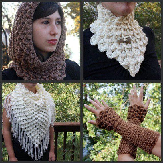 Cuellos tejidos a crochet para hombres - Imagui