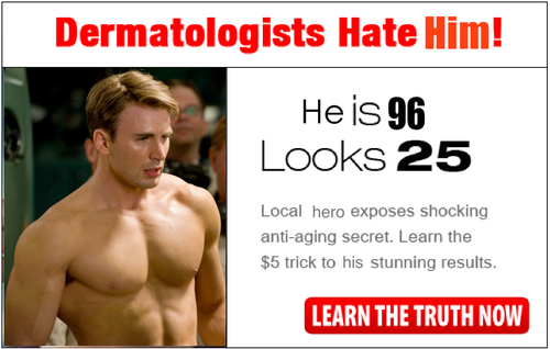Dermatologists hate him!