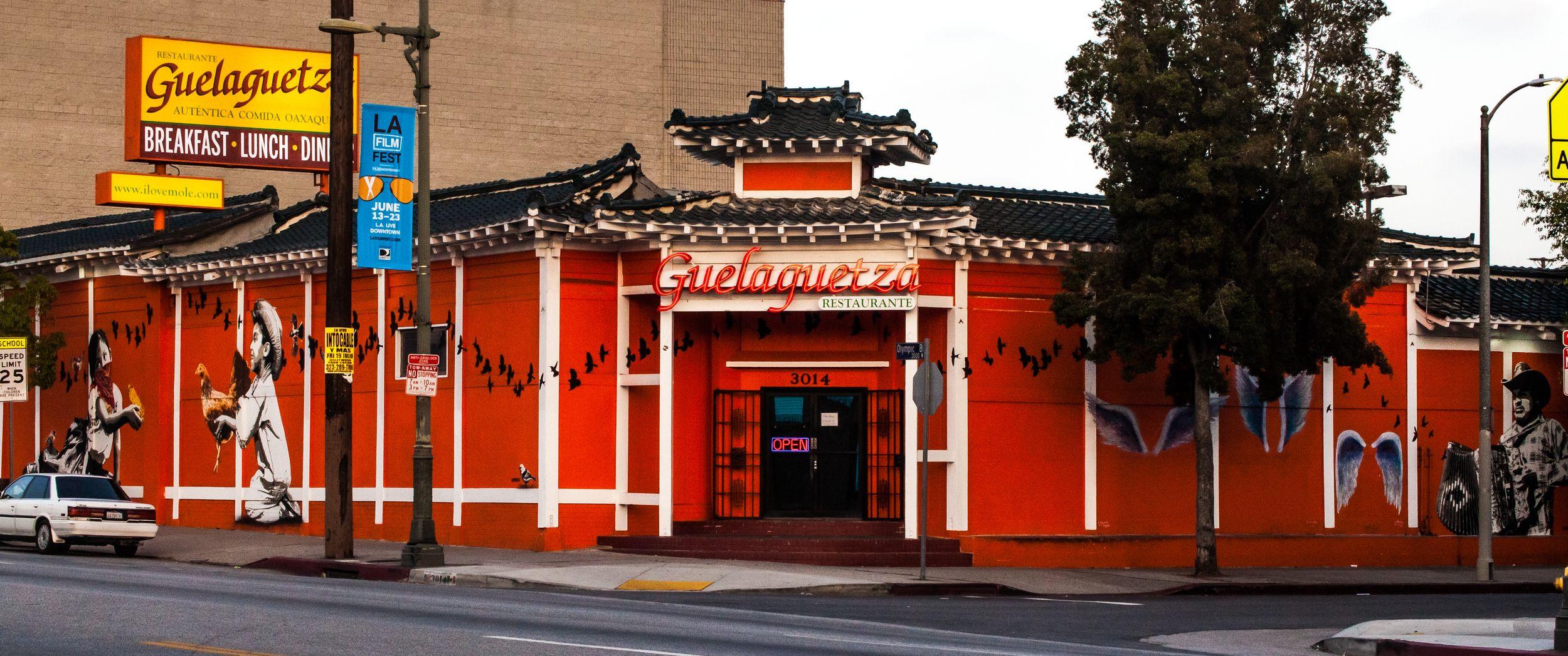 Guelaguetza restaurant los angeles ca koreatown