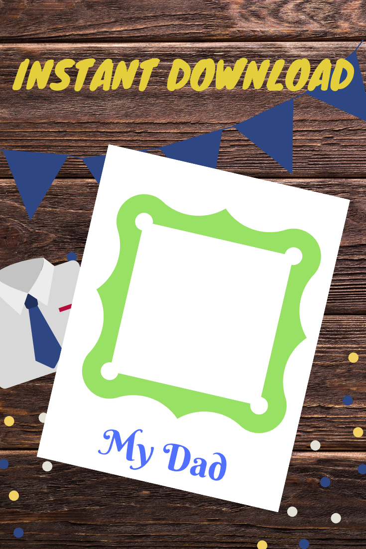 Father S Day Letter Printable Fathers Day Frames Fathers Day Letters Father S Day Printable