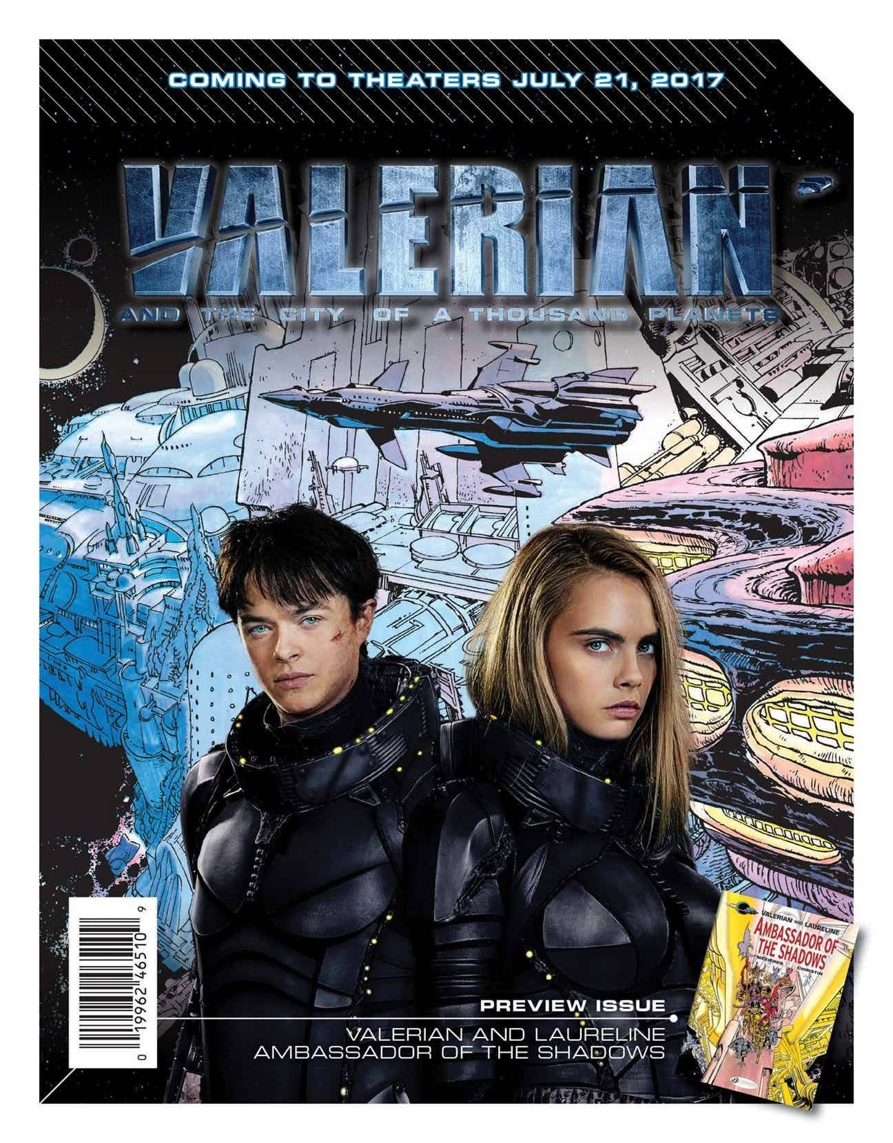 This Saturday, celebrate #FreeComicBookDay with a copy of 'Valerian and Laureline: Ambassador of the Shadows', the volume that inspired Luc Besson's upcoming film Valerian - CA and the City of a Thousand Planets. Visit http://bit.ly/FCBD_Locator for details.