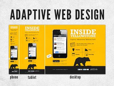 Adaptive Web Design Website Ontwerp