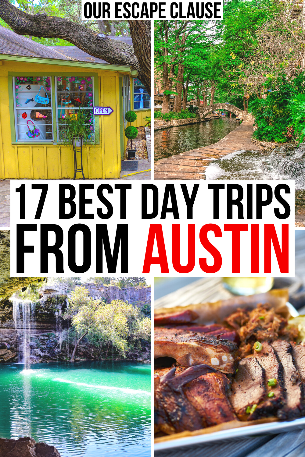 Small towns, wineries, barbecue, and swimming holes: here are the best day trips from Austin!  best day trips from austin texas   best central texas day trips   best day trips in central texas   best things to do in austin tx   austin day trip ideas   austin day trips   austin tx day trips   best day trips in texas   texas day trip ideas   austin travel destinations   best swimming holes near austin   best hikes near austin   best small towns near austin tx     best places to visit near austin