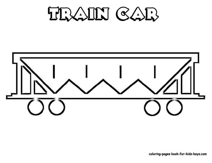 Outlines Of Train Cars To Help Them Draw Train Coloring Pages Train Coloring Pages Train Train Car