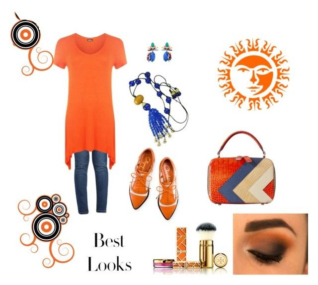 """""""Sunrise"""" by laura-medrano on Polyvore featuring WearAll, Charlotte Olympia, MML, Tory Burch, Gripoix, Chicnova Fashion, women's clothing, women's fashion, women and female"""