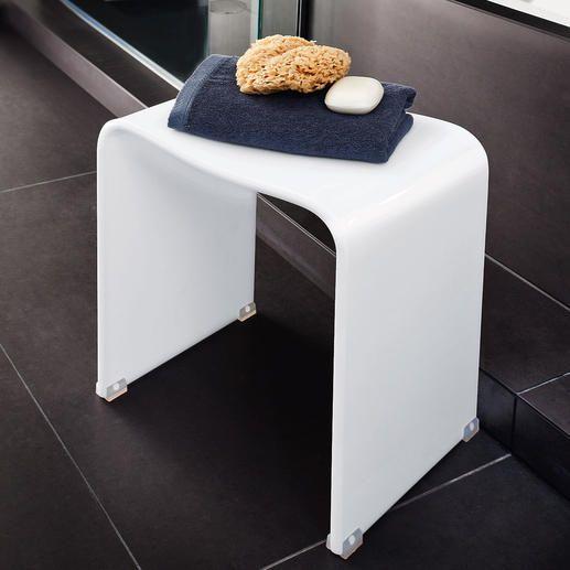 Acryl-Duschhocker Der perfekte Hocker: Elegantes Acryl-Design ... | {Duschhocker holz 92}