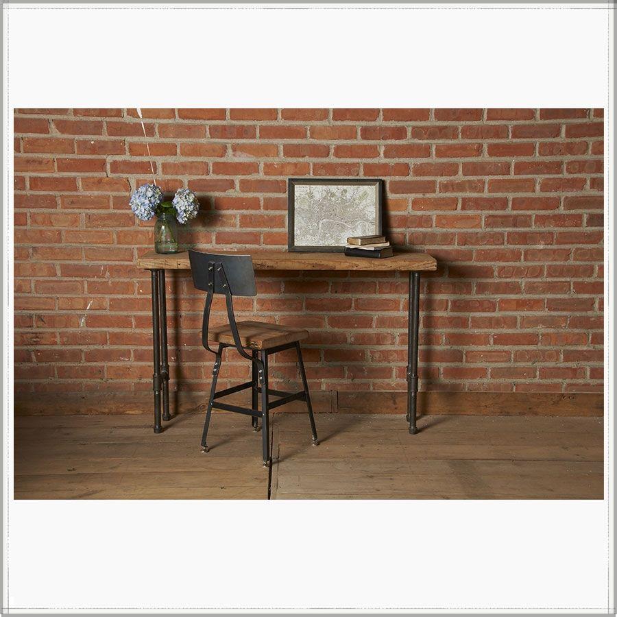 decorating apartment ideas reclaimed wood desk industrial modern