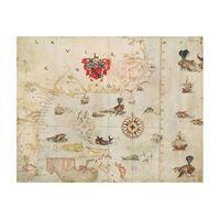 La Virgenia Pars: a map of the east coast of N. America, John White