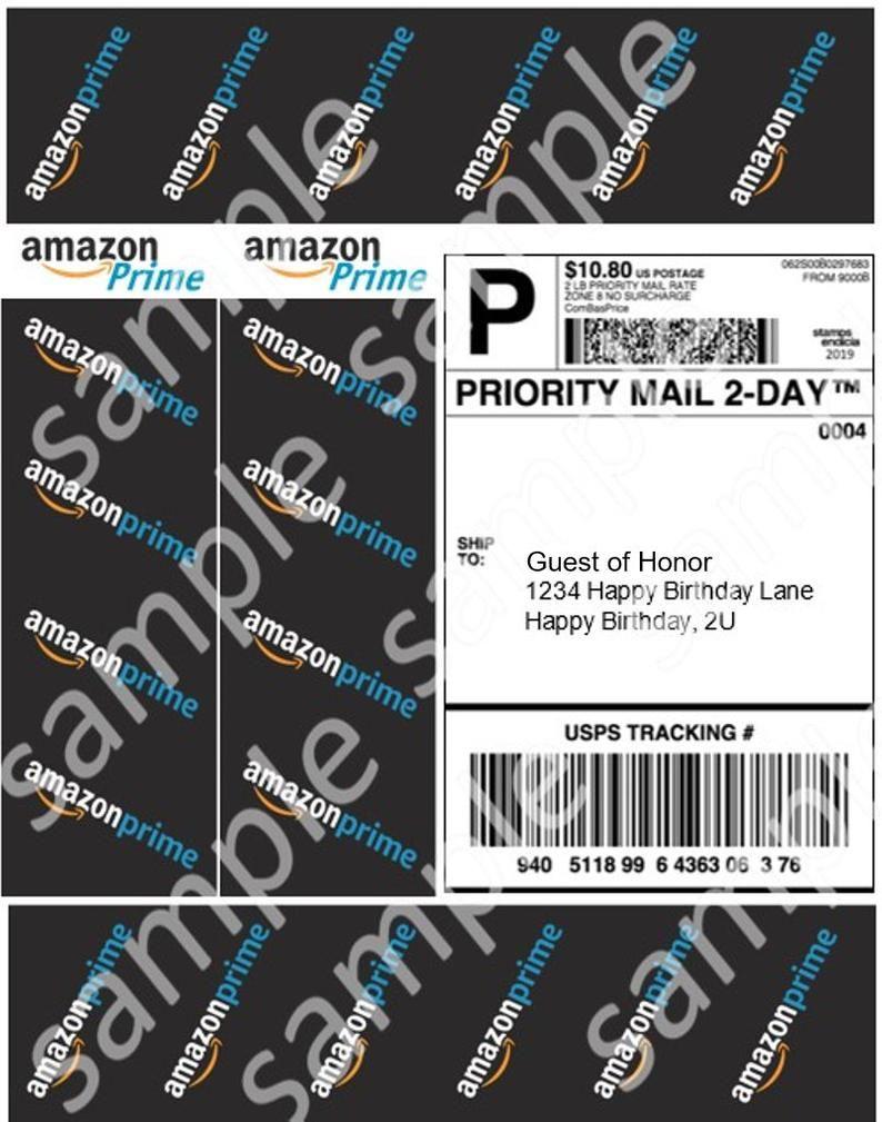 Digital Download Amazon Cake Print Cake Printing Printing Labels Free Amazon Products