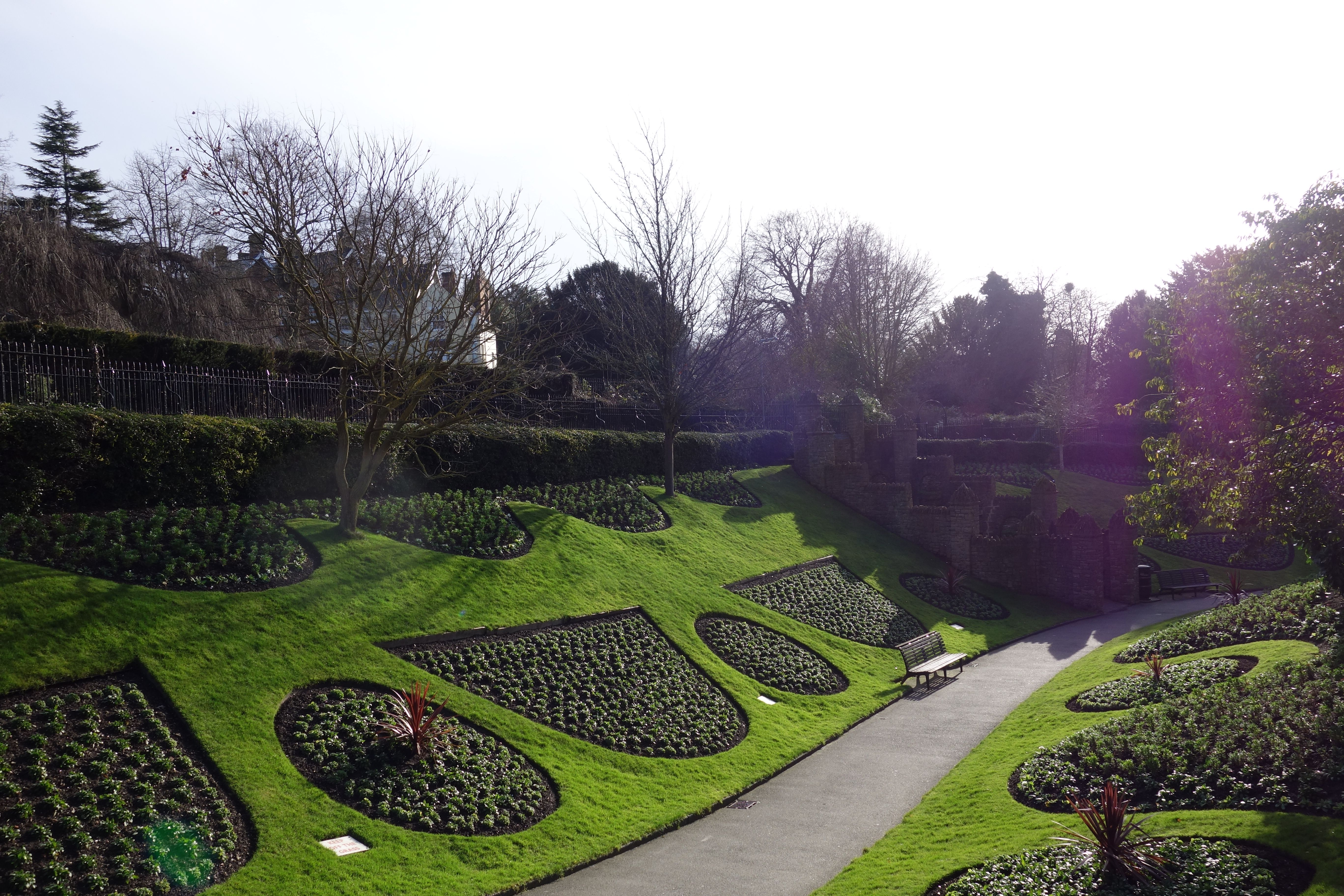 Gardens in Guildford