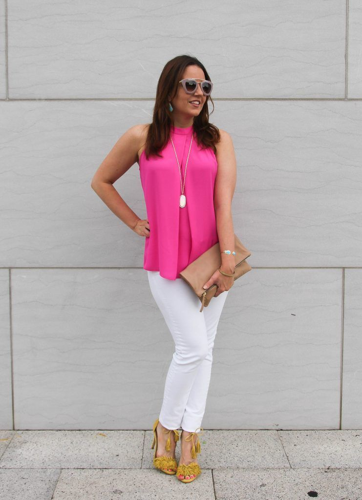 82af36c27b1b 30 Ways to Wear White Jeans in Spring and Summer