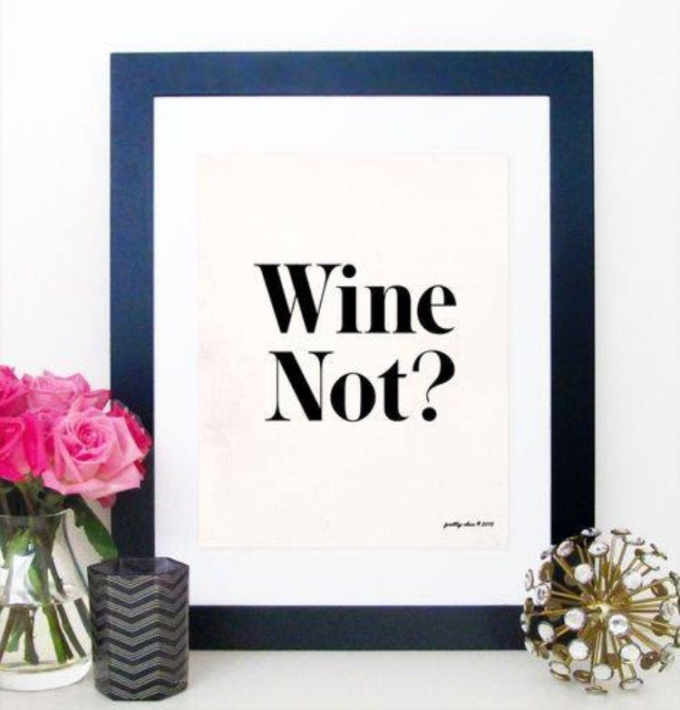Wonderful Print   Wino   Wine Art   Happy Hour   Bar Cart   Bar Sign   Kitchen Art    Cocktails On Etsy