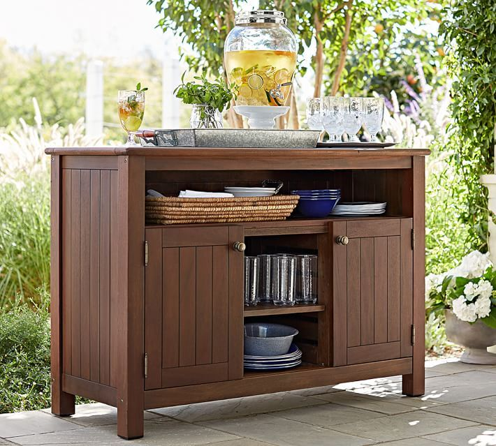 Pin By Teresa Bohn On OUTDOOR Pinterest - Pottery barn outdoor console table