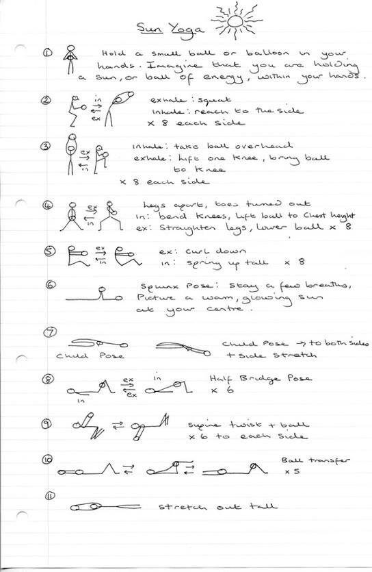 Printable yoga pises | Tidbits and Tips | Yoga lessons, Yoga