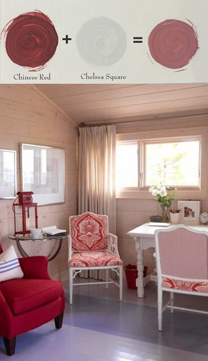 Amy Howard At Home One Step Paint Chinese Red Chelsea