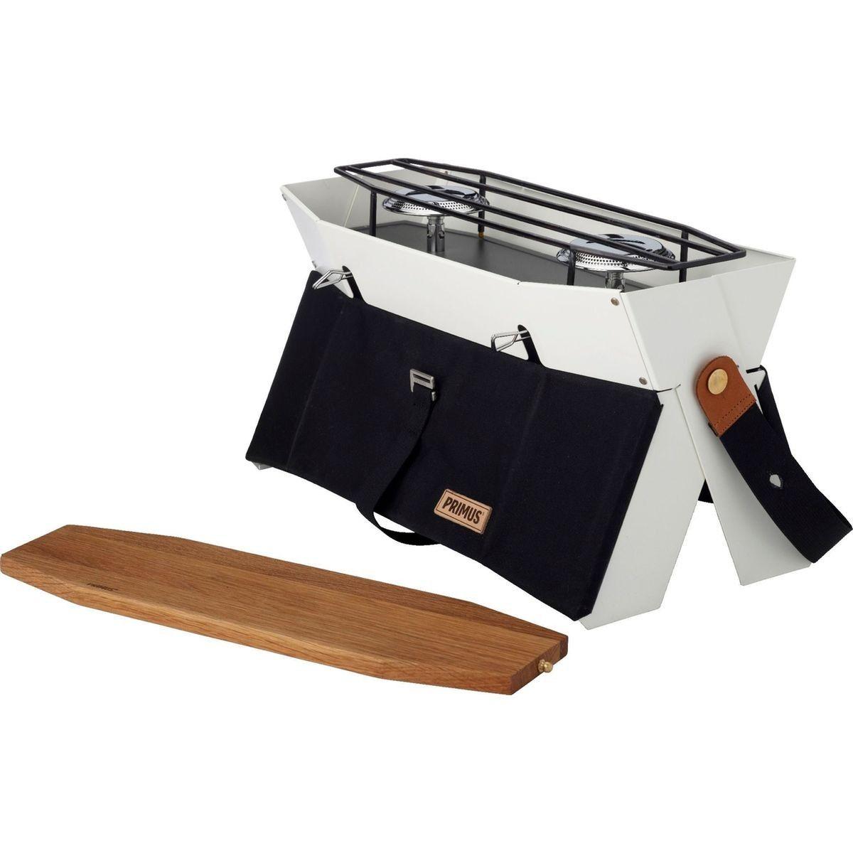 Cuisini/ère ext/érieure Camping Rocket Stove Barbecue pour la randonn/ée Cuisini/ère /à Bois Portable Four /à Charbon Campfire Equipement de Survie en Camping
