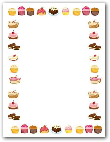 Folios Con Pasteles Para Imprimir Fotos O Imagenes Portadas Para Facebook Imprimir Sobres Torta Dibujo Pasteles