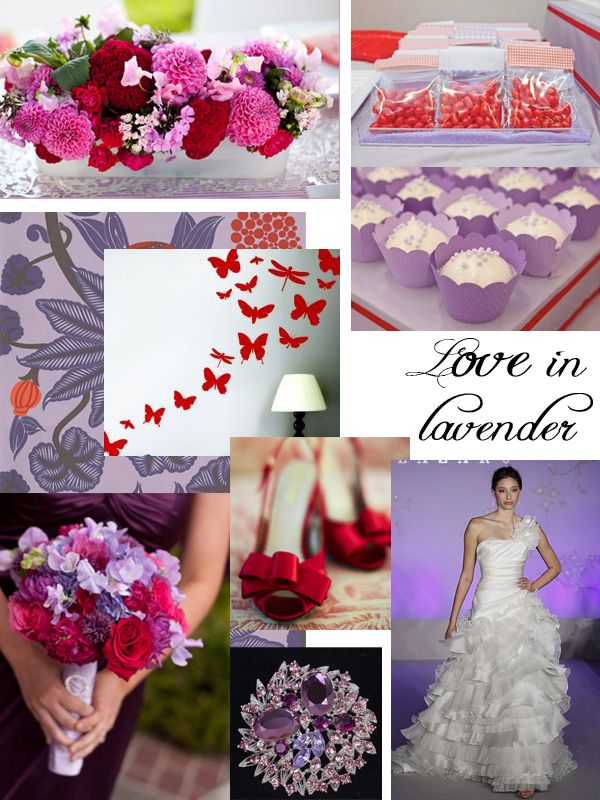 Purple And Red Wedding Decorations Bing Images