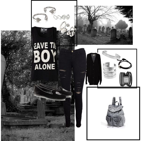 """He just wants to be by himself"" by flashstylestl on Polyvore"