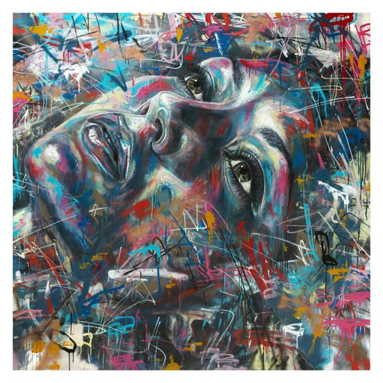 David Walker – The London-based visionary, who opts to use cans of paint in lieu of a paintbrush or some other conventional tool for applying color to produce an image, proves that spray painting can be considered a fine art rather than an act of urban vandalism.