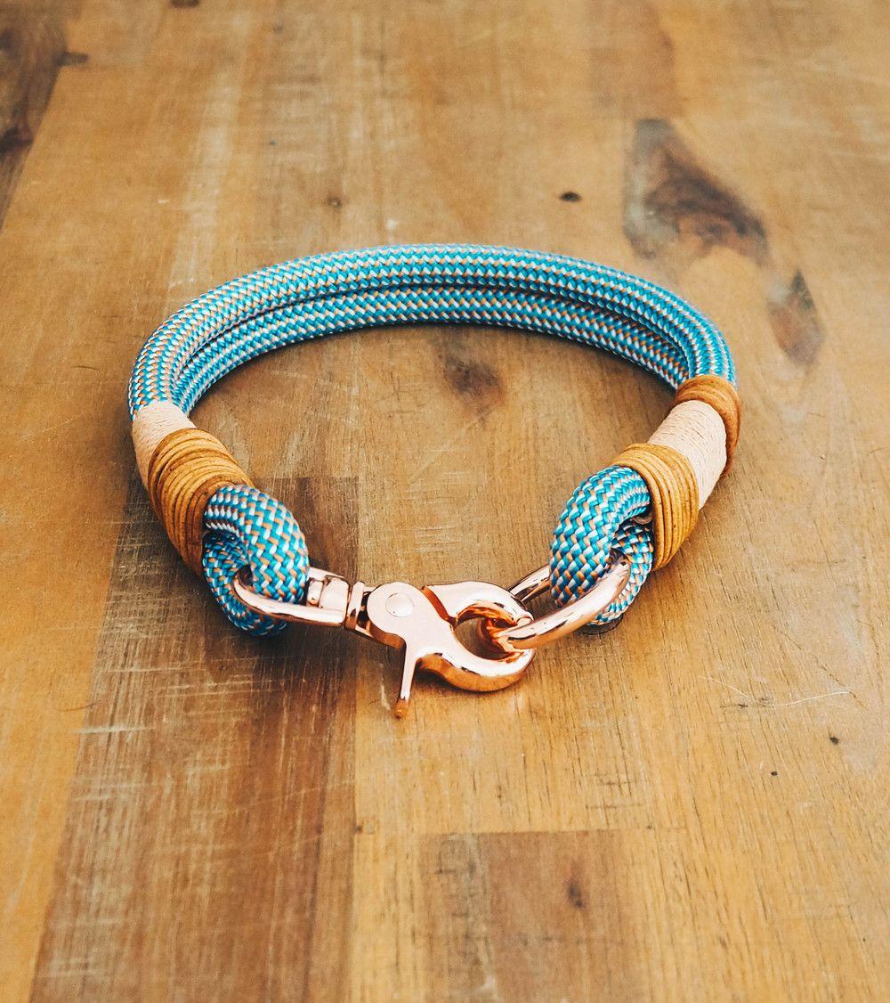 Hunde Sachen Kaufen : hund halsb nder hundehalsband aus kletterseil handgefertigt ein designerst ck von pawsome ~ Watch28wear.com Haus und Dekorationen